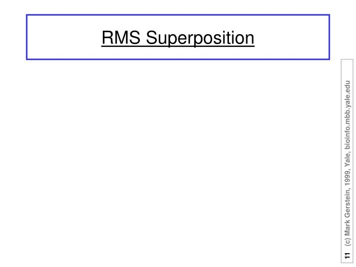 RMS Superposition