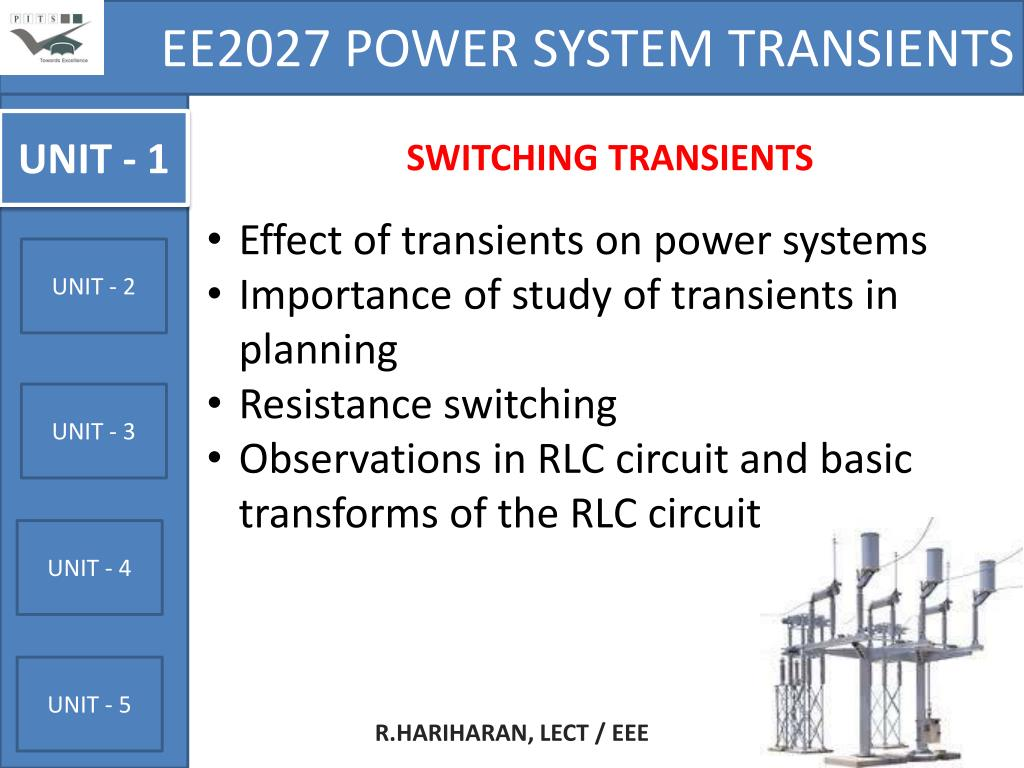 Ee2027 power system transients notes pdf