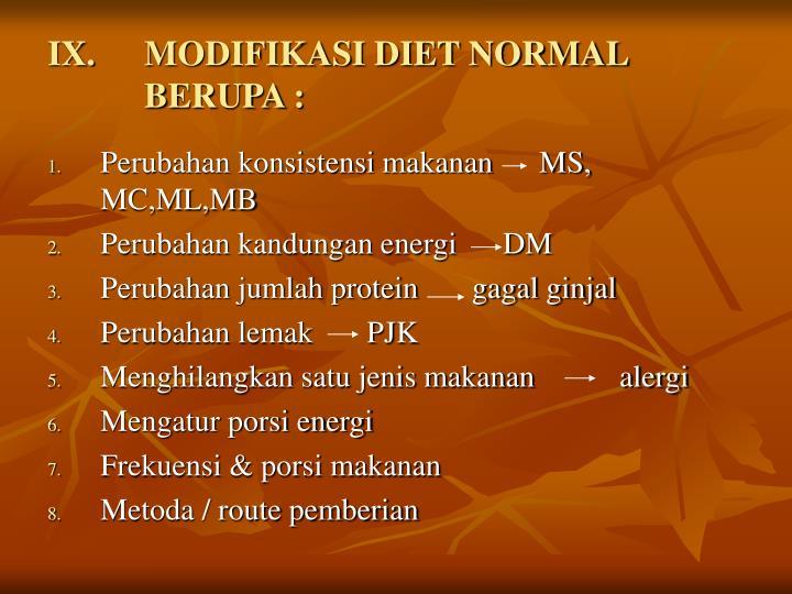 Modifikasi Resep Diet Autis Nany Suryani, SGz.