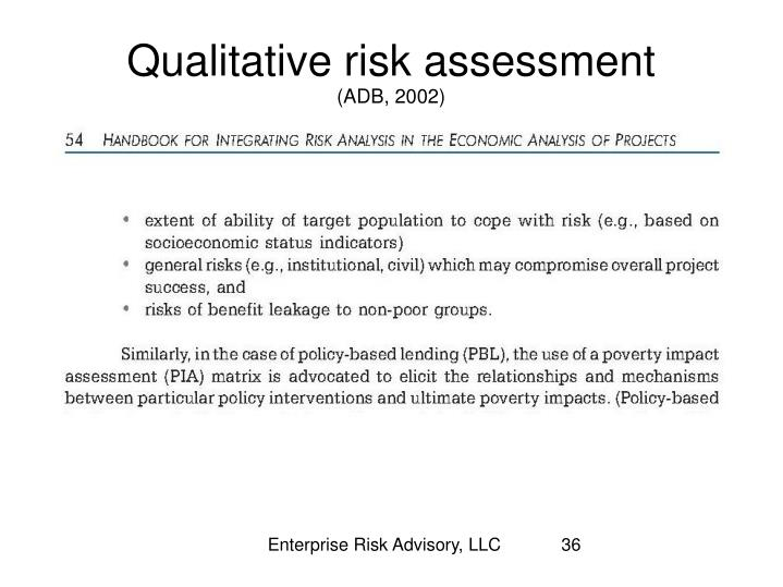 Enterprise Risk Advisory, LLC