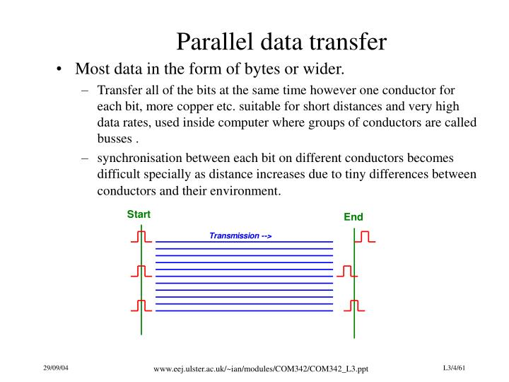 Parallel data transfer