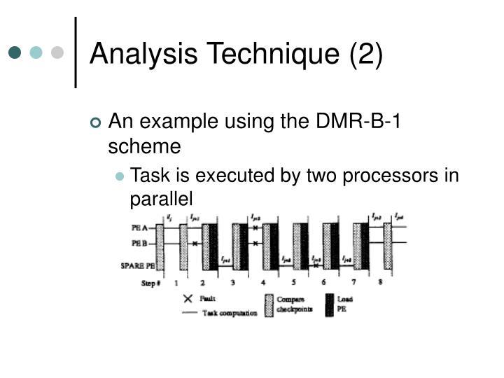 Analysis Technique (2)