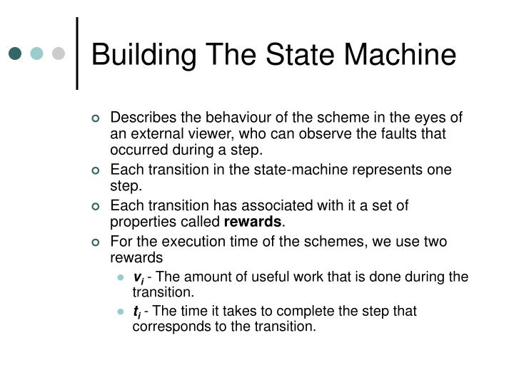 Building The State Machine