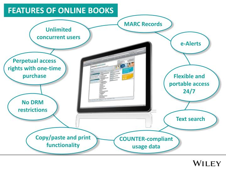 FEATURES OF ONLINE BOOKS
