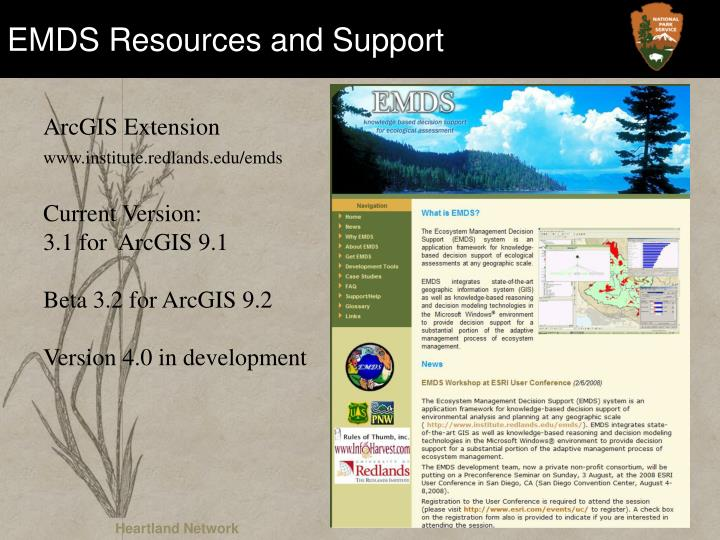 EMDS Resources and Support