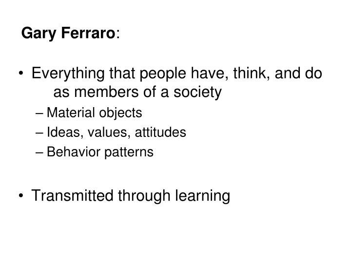 Gary Ferraro