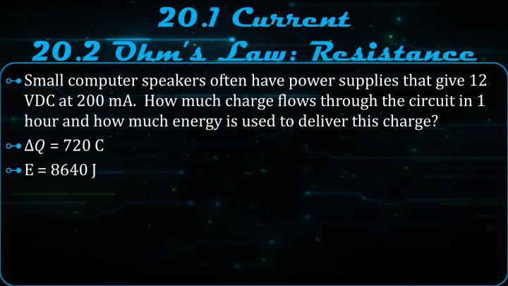 20 1 current 20 2 ohm s law resistance1