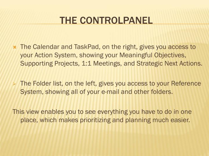 THE CONTROLPANEL