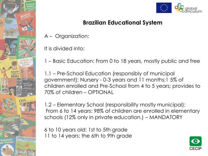 Brazilian Educational System