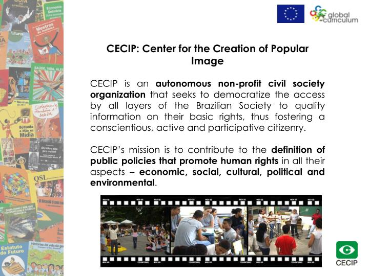 CECIP: Center for the Creation of Popular  Image