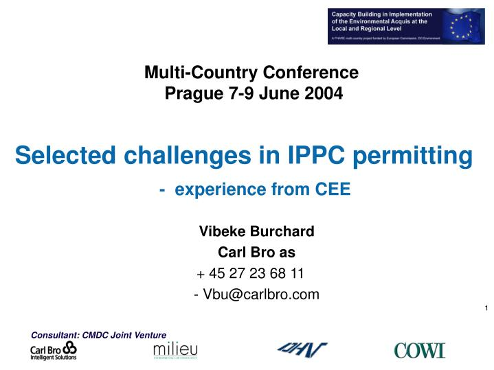 Multi-Country Conference