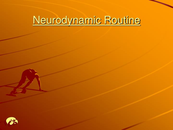 Neurodynamic Routine