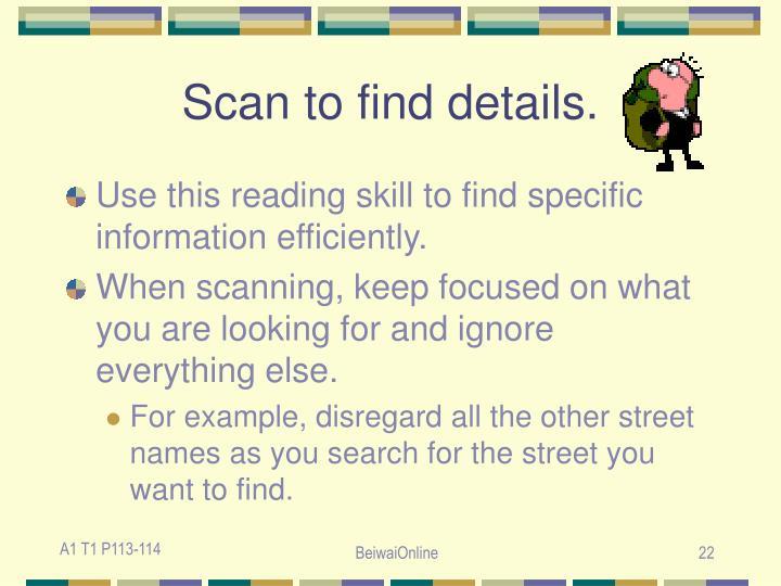 Scan to find details.