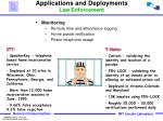 applications and deployments law enforcement