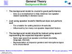 general theory background model1