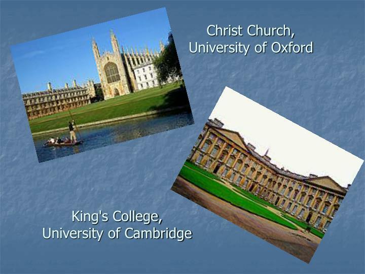 Christ Church, University of Oxford