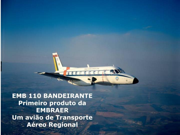 EMB 110 BANDEIRANTE