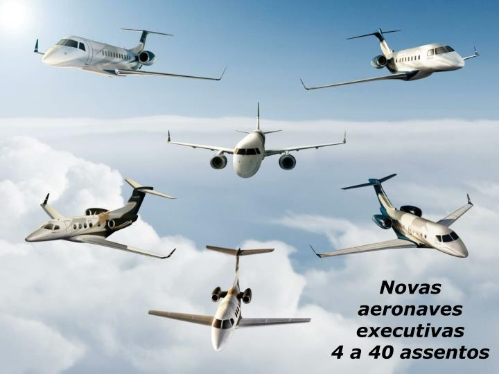 Novas aeronaves executivas