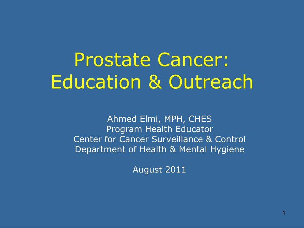 prostate cancer types ppt)