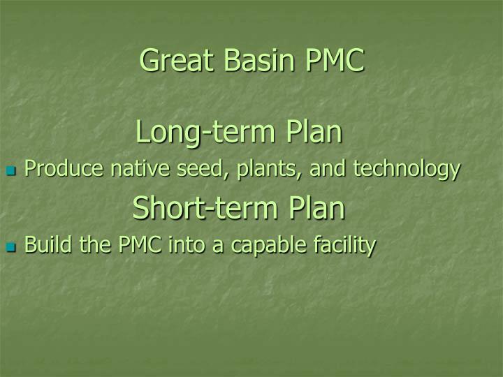 Great basin pmc1