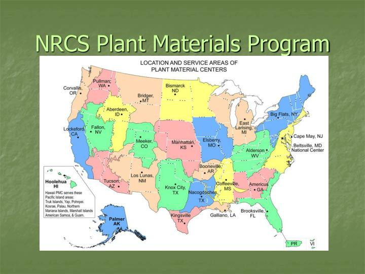NRCS Plant Materials Program