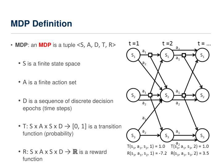 Mdp definition