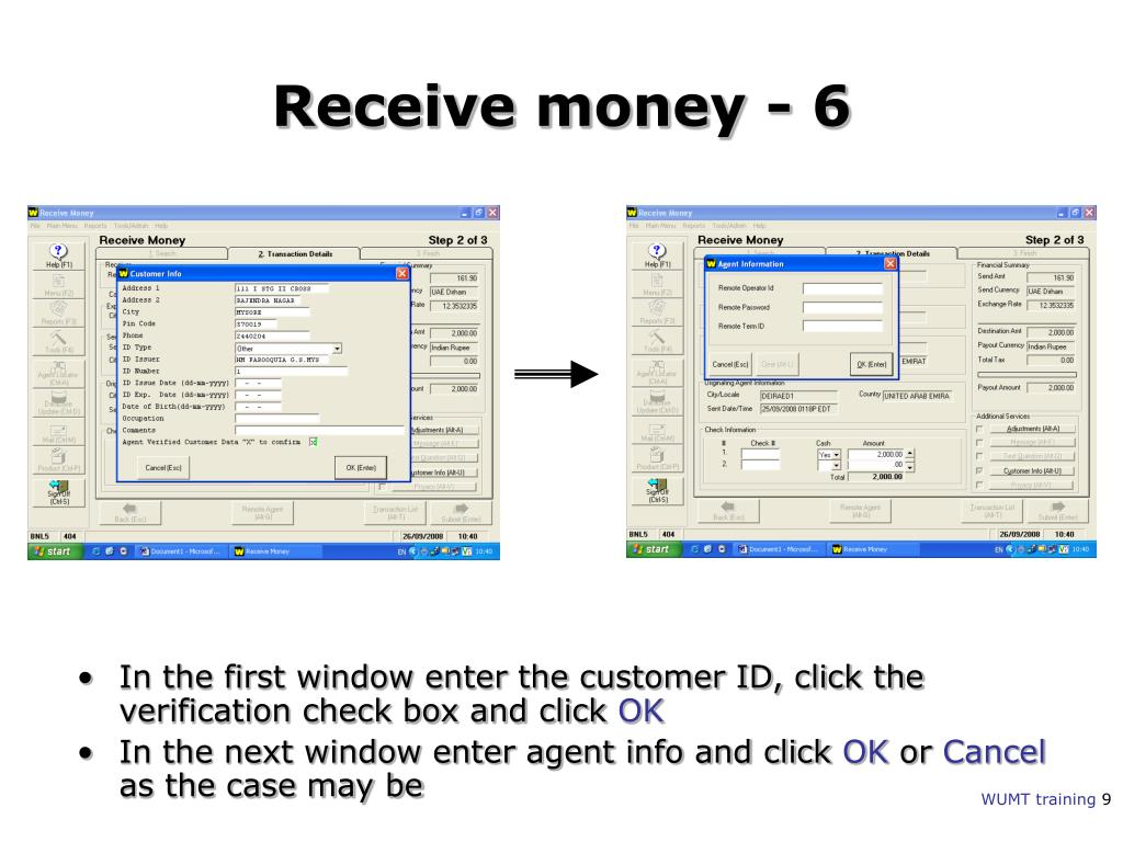 PPT - Western Union Money Transfer PowerPoint Presentation
