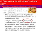 4 choose the food for the christmas party1