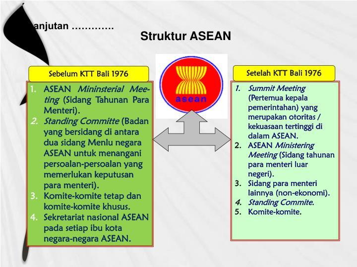 Struktur ASEAN