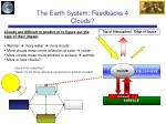 the earth system feedbacks 4 clouds