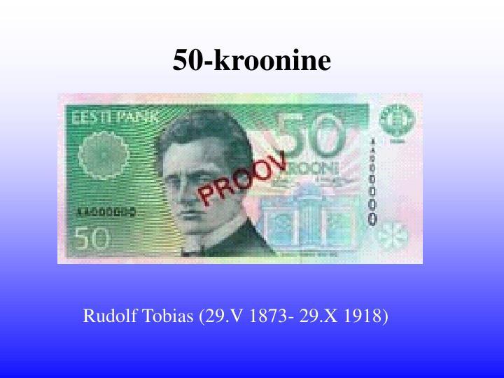 50-kroonine