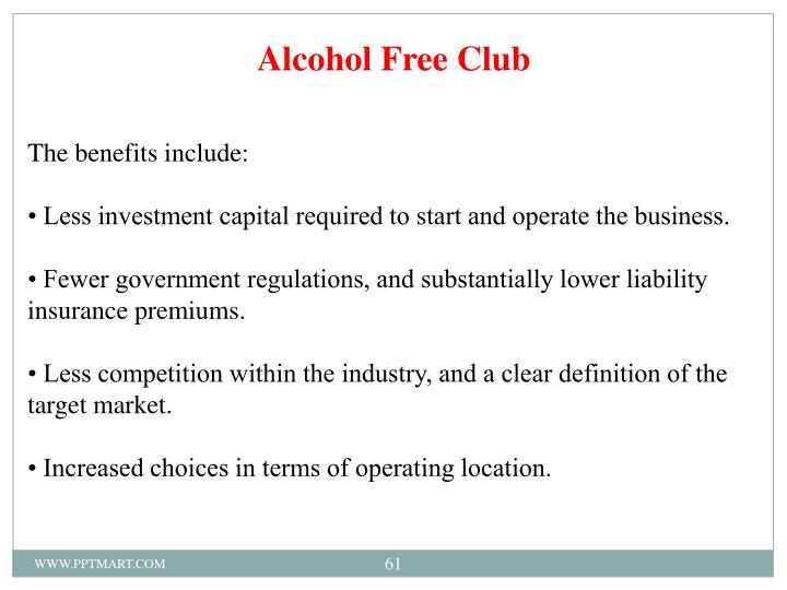 Alcohol Free Club