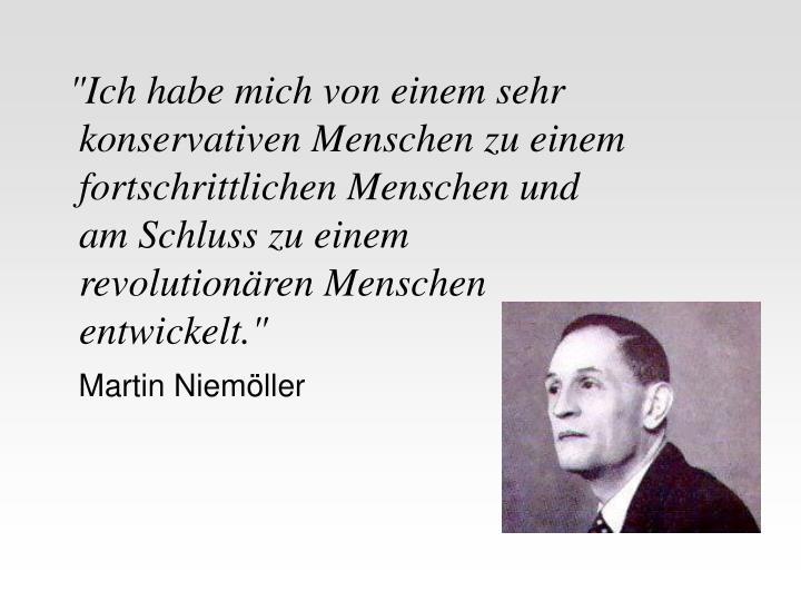 Martin Niemöller Lebenslauf