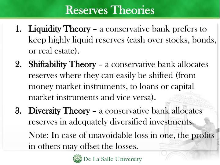 Reserves Theories