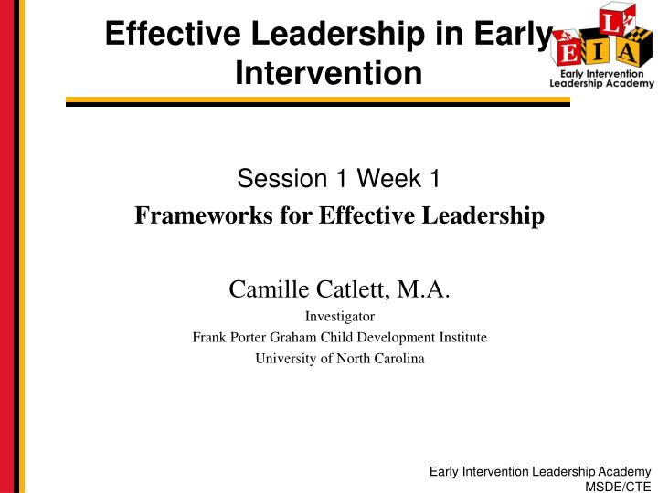 effectiveness of the early intervention approach This book reviews research on the effectiveness of early intervention for children with disabilities or who are at risk program factors for children at risk and with disabilities, the effects of early intervention on different types of disabilities, and the outcomes of early intervention are explored.