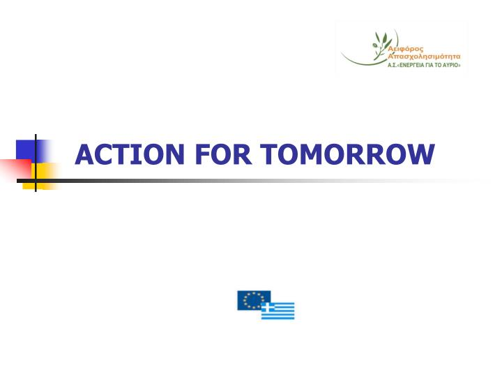 action for tomorrow n.