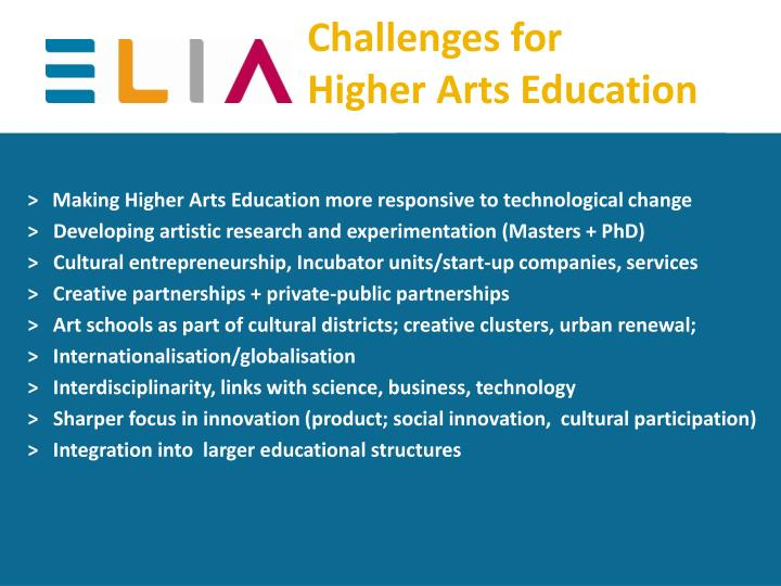 Challenges for