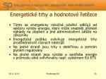 energetick trhy a hodnotov et zce11