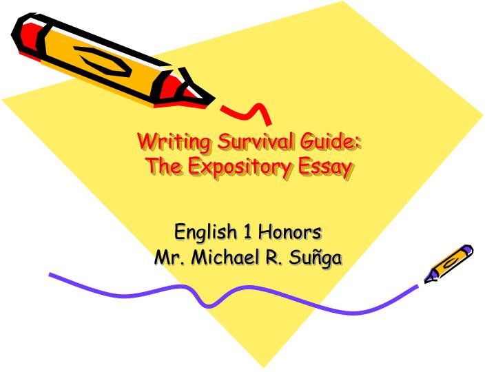 expository essay ppt