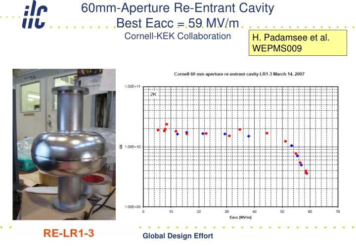 60mm-Aperture Re-Entrant Cavity