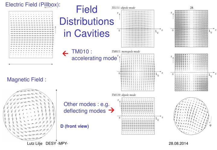 Electric Field (Pillbox):