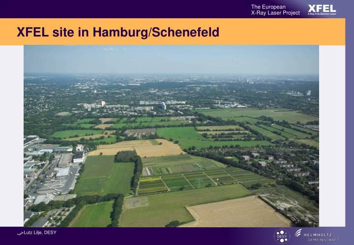 XFEL site in Hamburg/Schenefeld