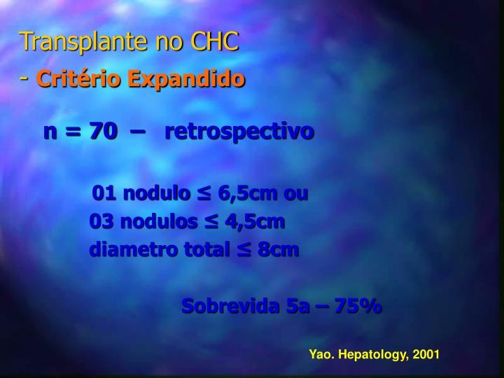 n = 70  –   retrospectivo