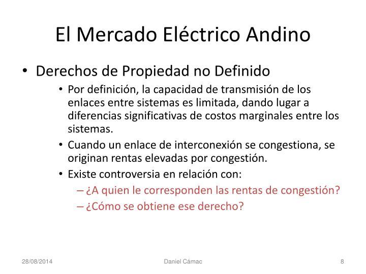 El Mercado Eléctrico Andino
