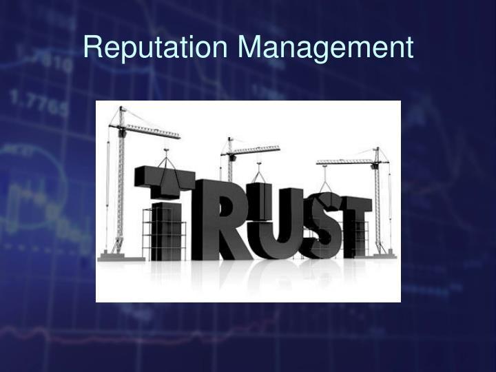 Reputation Management