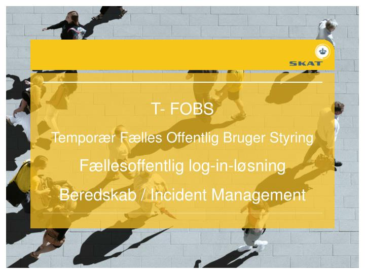 T- FOBS