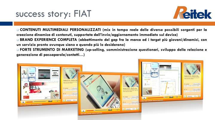 success story: FIAT