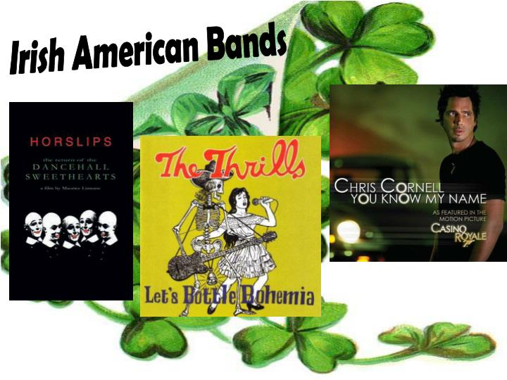 Irish American Bands