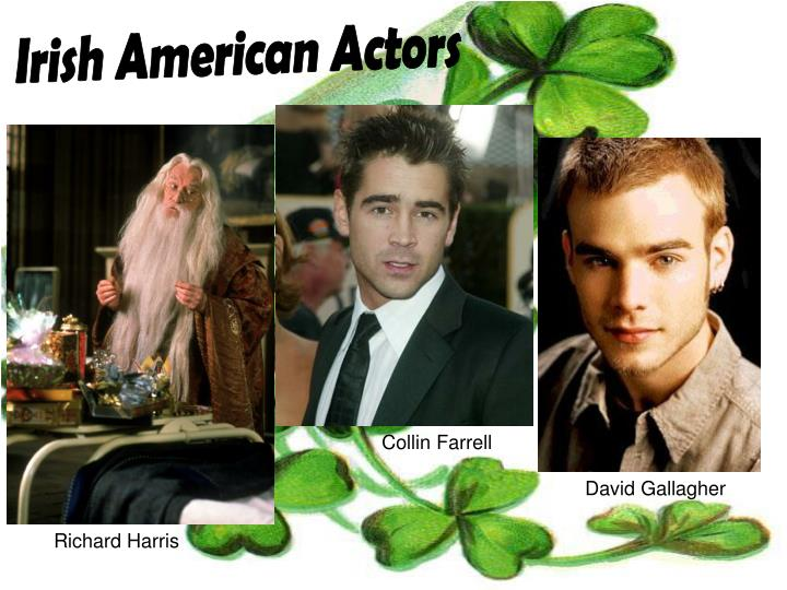 Irish American Actors