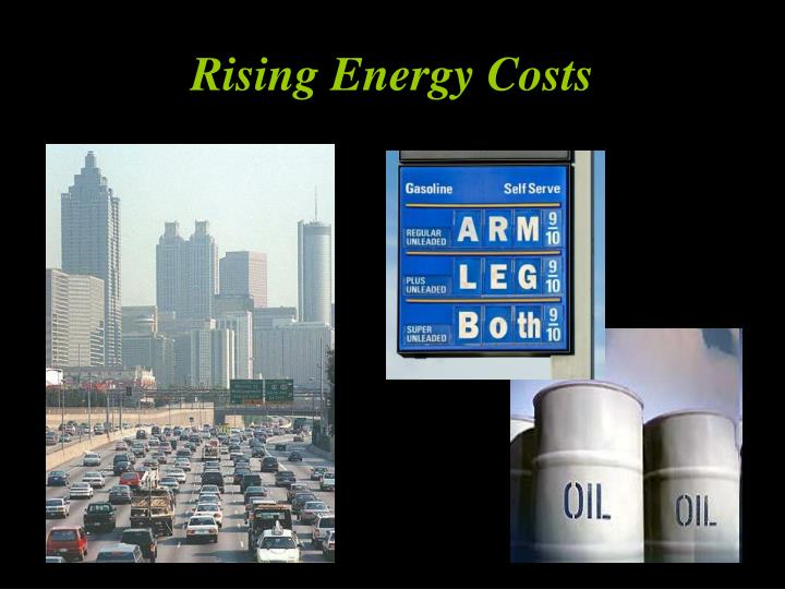 Rising Energy Costs